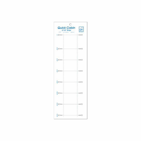 "June Tailor Quick Cabin 2.5"" Ruler"