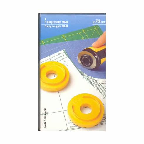 Maxi fixing weights, 2 pieces