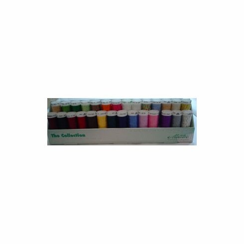 Mettler Embroidery Metallic Mix Thread Gift Pack 200m 28 Spools