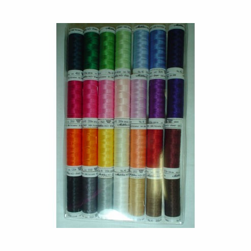 Mettler Embroidery Thread Gift Pack 200m 28 Spools