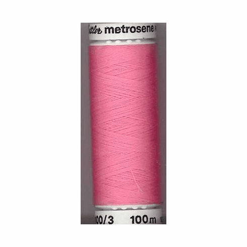 Mettler Metrosene Polyester Thread, 100m, Color #0067 Rose
