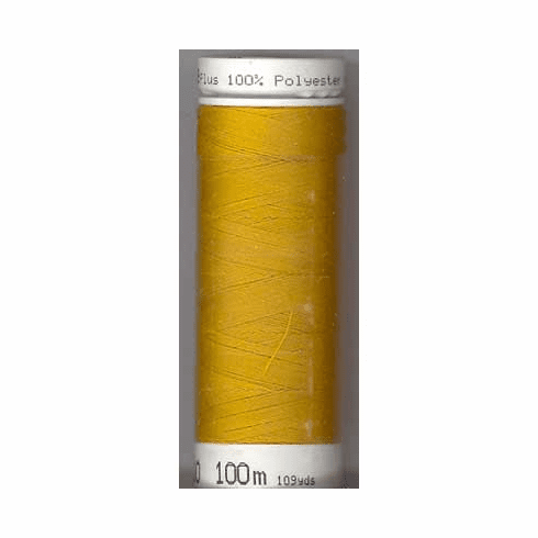 Mettler Metrosene Polyester Thread, 100m, Color #0118 Gold