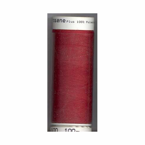 Mettler Metrosene Polyester Thread, 100m, Color #0504 Country Red