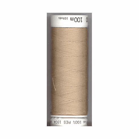 Mettler Metrosene Polyester Thread, 100m, Color #0538 Straw