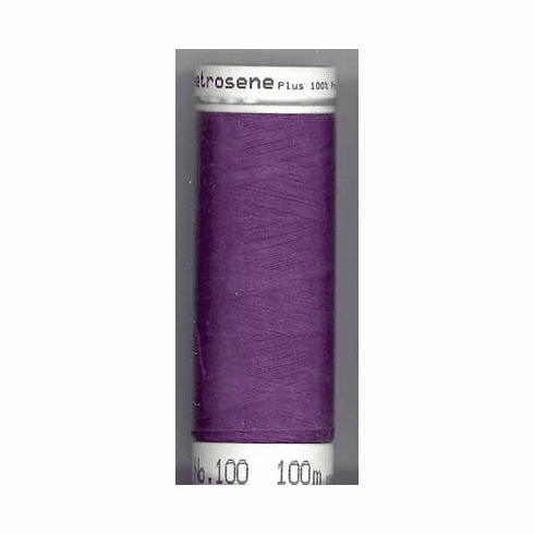 Mettler Metrosene Polyester Thread, 100m, Color #0578 Purple Twist