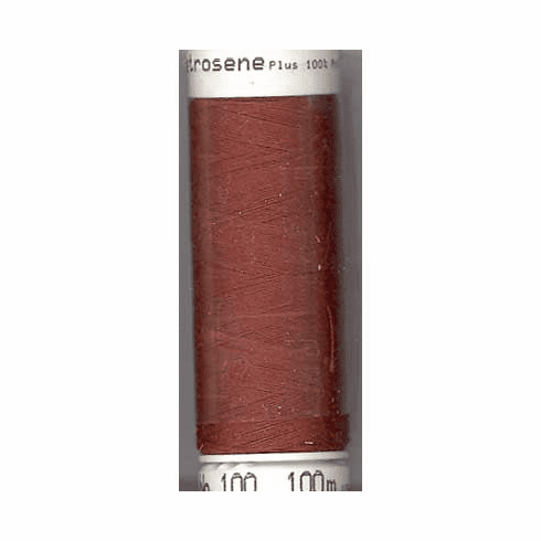 Mettler Metrosene Polyester Thread, 100m, Color #0634 Foxy Red