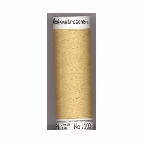 Mettler Metrosene Polyester Thread, 100m, Color #0780 Cornsilk
