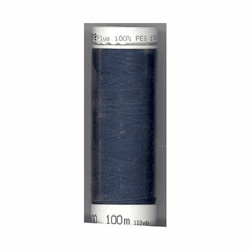 Mettler Metrosene Polyester Thread, 100m, Color #0810 Blue Black