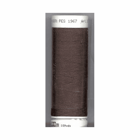 Mettler Metrosene Polyester Thread, 100m, Color #1002 Dark Amber