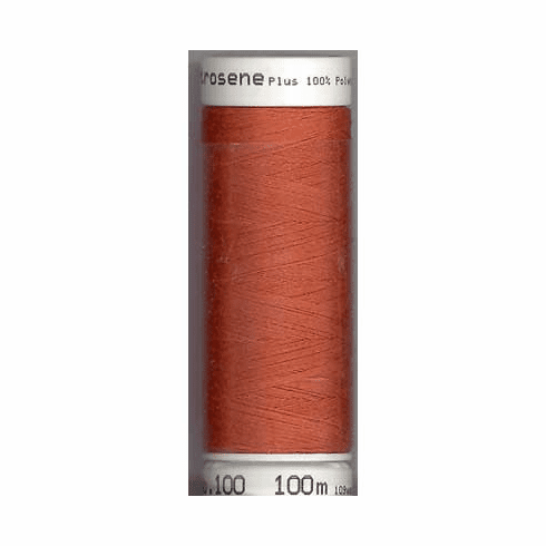 Mettler Metrosene Polyester Thread, 100m, Color #1288 Reddish Ocher