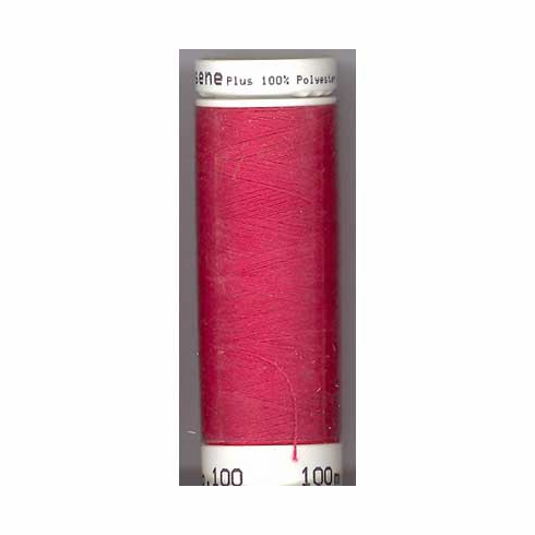 Mettler Metrosene Polyester Thread, 274m, Color #0104 Candy Apple