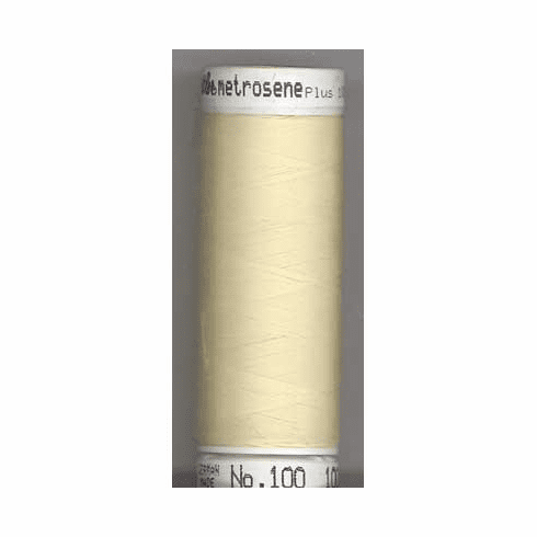 Mettler Metrosene Polyester Thread, 274m, Color #0129 Vanilla