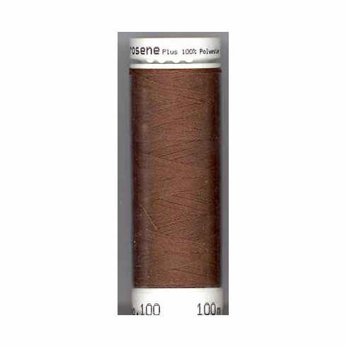 Mettler Metrosene Polyester Thread, 500m, Color #0263 Redwood