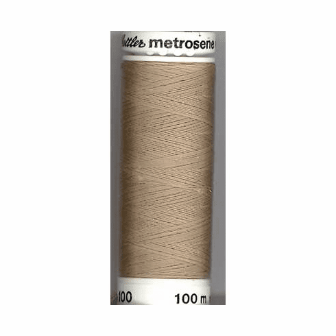Mettler Metrosene Polyester Thread, 500m, Color #0379 Stone