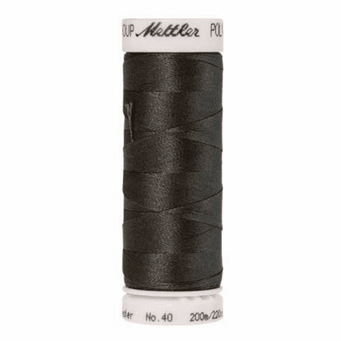 Mettler Polysheen Embroidery Thread Color #0132 Dark Pewter