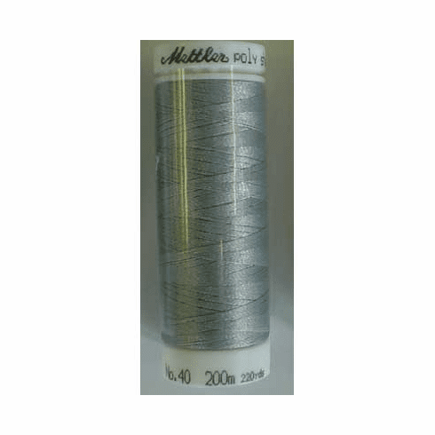Mettler Polysheen Embroidery Thread Color #0132 Dark Pewter 800M