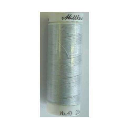 Mettler Polysheen Embroidery Thread Color #0142 Sterling 800M