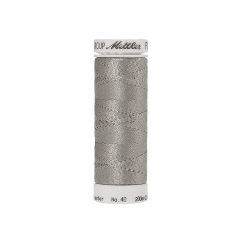 Mettler Polysheen Embroidery Thread Color #0150 Mystik Grey
