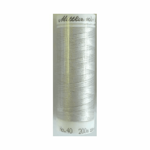 Mettler Polysheen Embroidery Thread Color #0150 Mystik Grey 800M