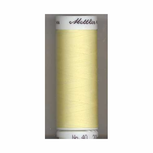Mettler Polysheen Embroidery Thread Color #0270 Buttercream