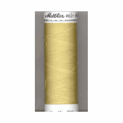 Mettler Polysheen Embroidery Thread Color #0532 Champagne 800M