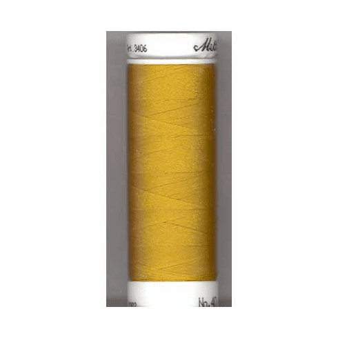 Mettler Polysheen Embroidery Thread Color #0542 Ochre 800M