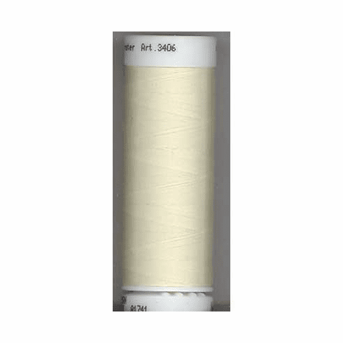 Mettler Polysheen Embroidery Thread Color #0670 Cream 800M