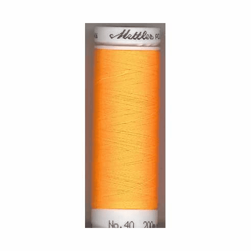 Mettler Polysheen Embroidery Thread Color #0702 Papaya 800M