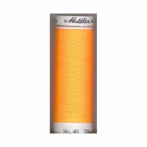 Mettler Polysheen Embroidery Thread Color #0800 Golden Rod 800M