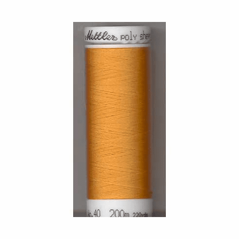 Mettler Polysheen Embroidery Thread Color #0811 Candlelight 800M
