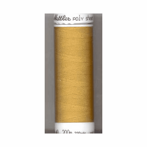 Mettler Polysheen Embroidery Thread Color #0822 Palomino 800M