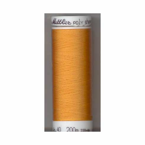 Mettler Polysheen Embroidery Thread Color #0824 Liberty Gold