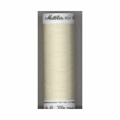 Mettler Polysheen Embroidery Thread Color #0870 Muslin 800M
