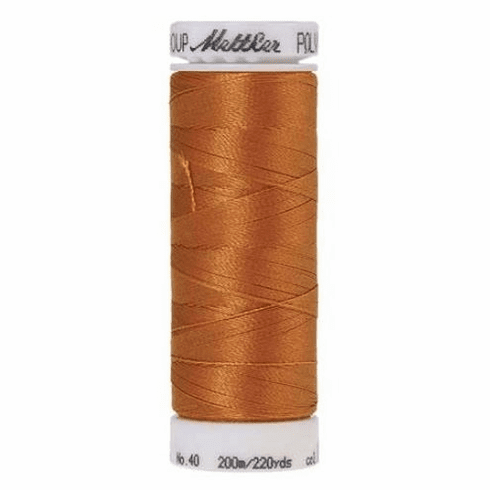Mettler Polysheen Embroidery Thread Color #0922 Ashley Gold