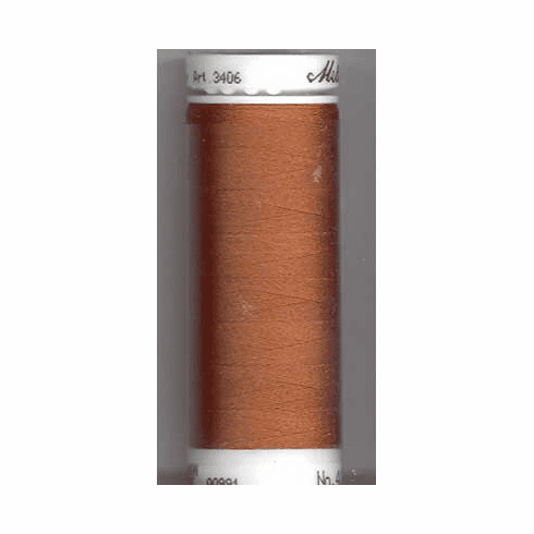 Mettler Polysheen Embroidery Thread Color #0933 Redwood 800M