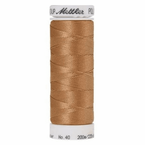 Mettler Polysheen Embroidery Thread Color #0934 Fawn