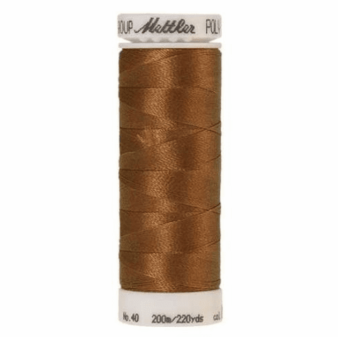 Mettler Polysheen Embroidery Thread Color #0941 Golden Grain