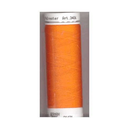 Mettler Polysheen Embroidery Thread Color #1102 Pumpkin 800M