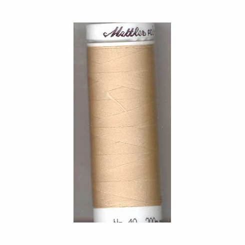 Mettler Polysheen Embroidery Thread Color #1172 Ivory