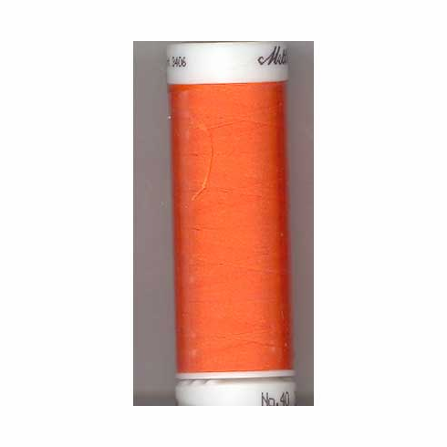 Mettler Polysheen Embroidery Thread Color #1300 Tangerine