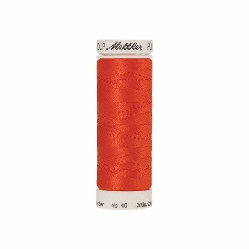 Mettler Polysheen Embroidery Thread Color #1304 Red Pepper