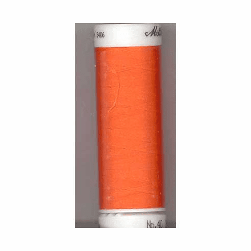 Mettler Polysheen Embroidery Thread Color #1304 Red Pepper 800M