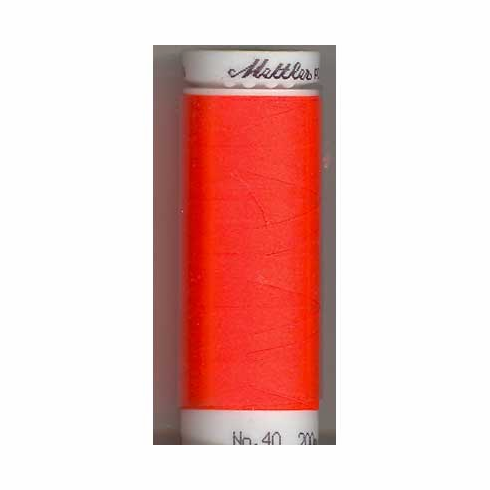 Mettler Polysheen Embroidery Thread Color #1306 Devil Red 800M