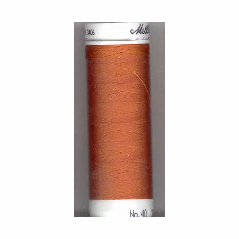 Mettler Polysheen Embroidery Thread Color #1312 Burnt Orange