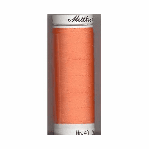 Mettler Polysheen Embroidery Thread Color #1352 Salmon 800m