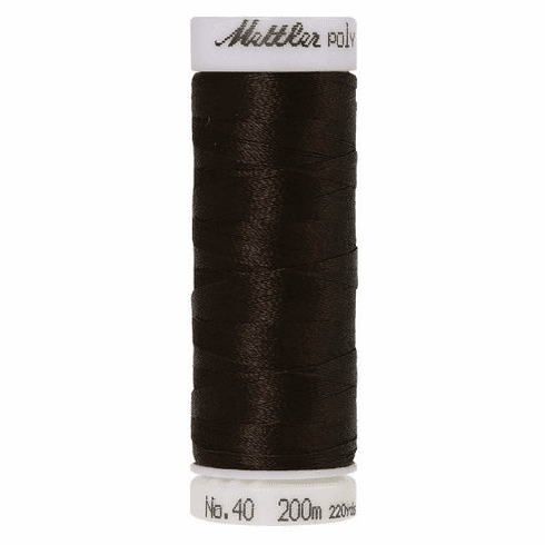 Mettler Polysheen Embroidery Thread Color #1366 Mahogany