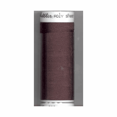 Mettler Polysheen Embroidery Thread Color #1366 Mahogany 800M
