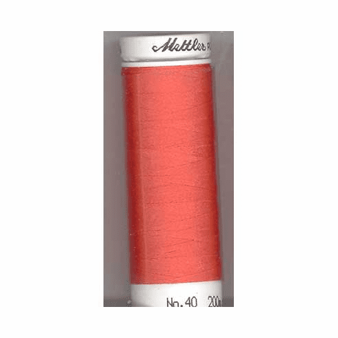 Mettler Polysheen Embroidery Thread Color #1600 Spanish Tile 800m