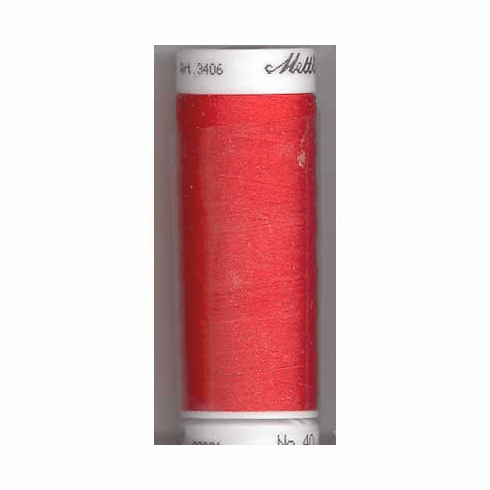 Mettler Polysheen Embroidery Thread Color #1703 Poppy 800M