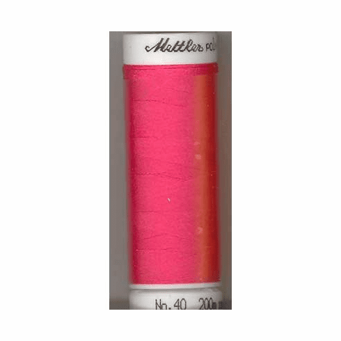 Mettler Polysheen Embroidery Thread Color #1950 Tropical Pink 800M